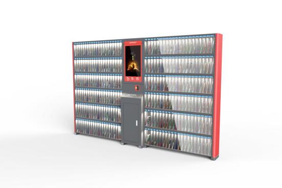 智能借閱書柜ZT7800